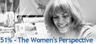 51% The Women&#039;s Perspective Promo Logo