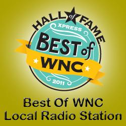 WNCW Best of Western North Carolina Logo