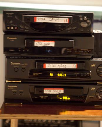 4 ancient pieces of equipment: vcrs