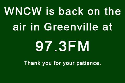 Greenville Tower is Back on the air. Thank you for your patience.