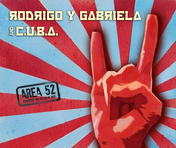 Rodrigo and Gabriella and Cuba album art