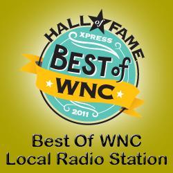 WNCW Best of Western North Carolina Logo