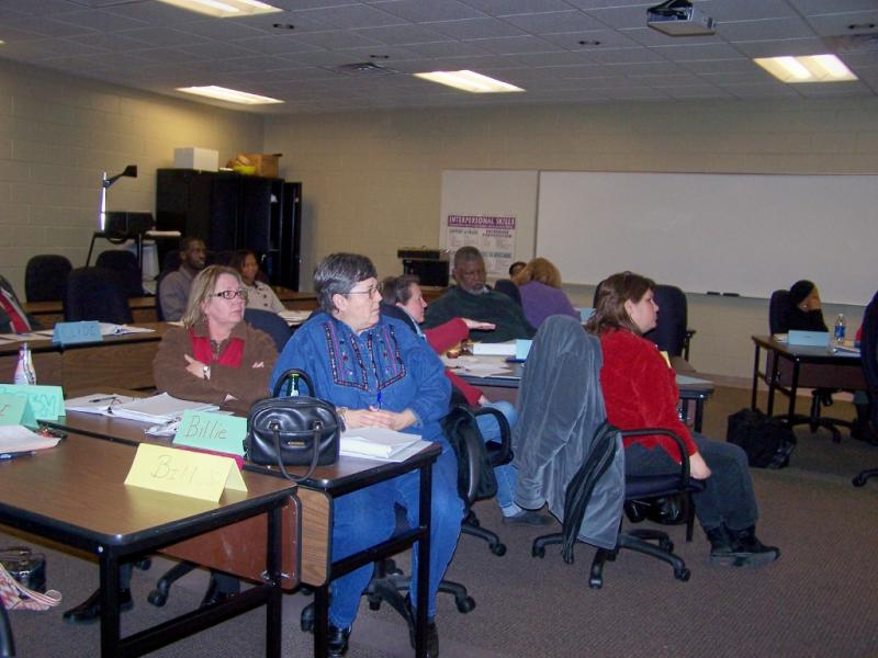 people in a classroom