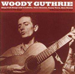 Woody Guthrie Album Art