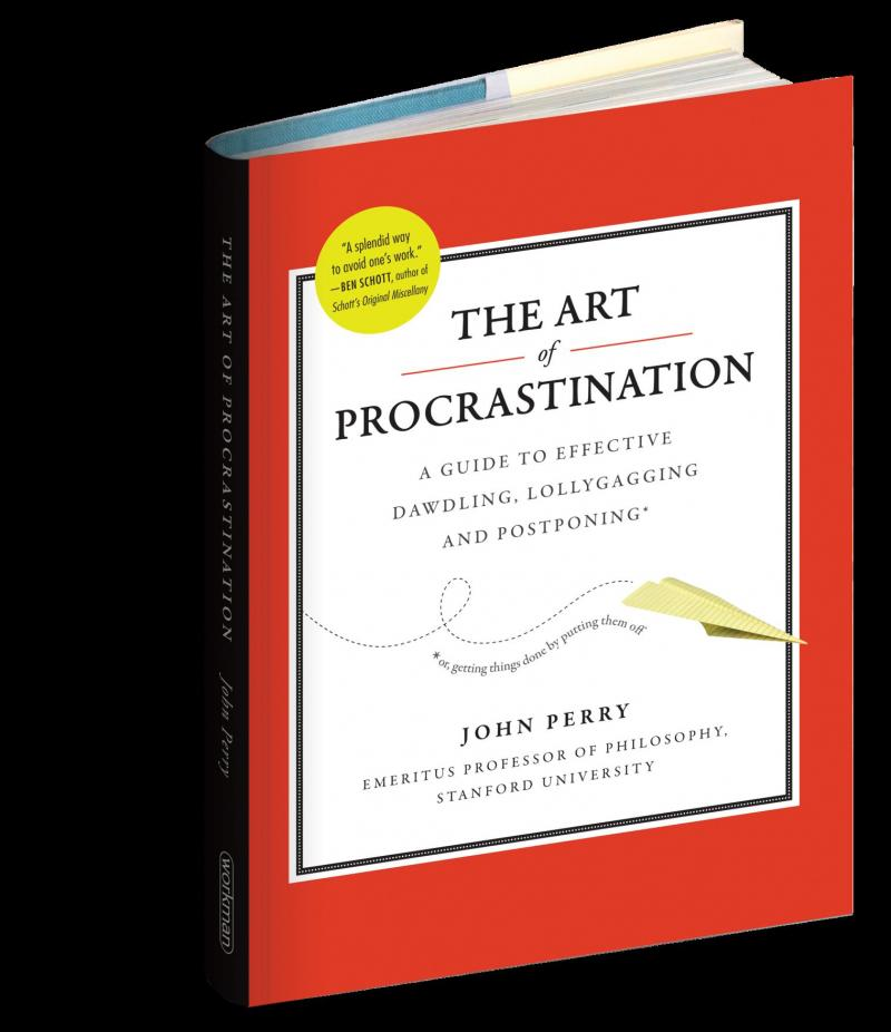The ARt of Procrastination Book Cover