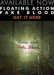 Floating Action Fake Blood
