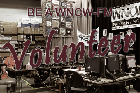 Be a WNCW Volunteer promo