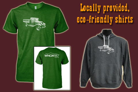 Shirt and Hoodie with truck on it