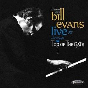 Bill Evans Live at the top of the gate  Album Art