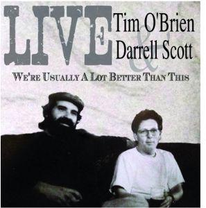 Tim O'brien and Darrel Scott  Album Art