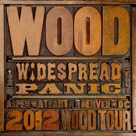 Widespread Panic Wood Tour Logo