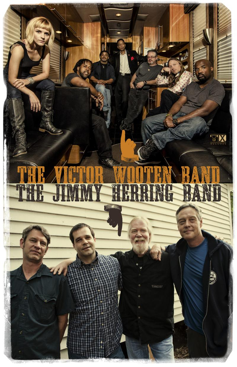 Victor Wooten Band and the Jimmy Herring Band