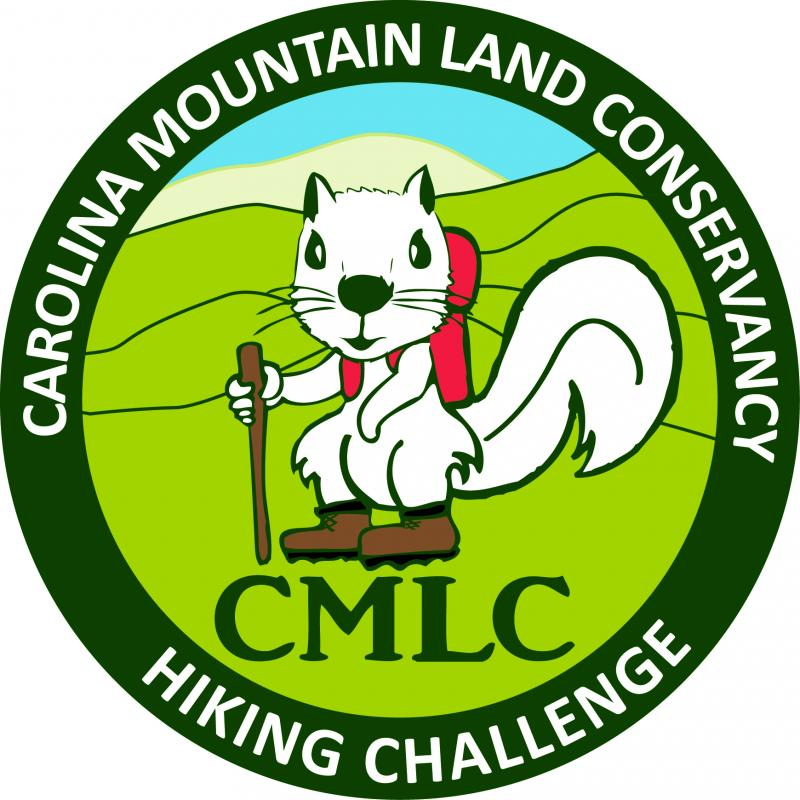 Carolina Mountain Land Conservancy patch hiking challenge