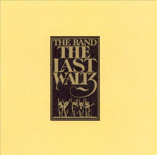 The Band the last waltz Album Art