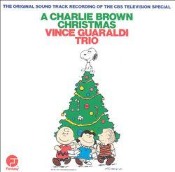 Charlie Brown Christmas Album Art