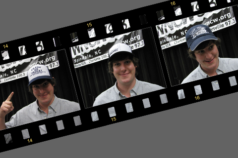 Film Strip with Spencer feature