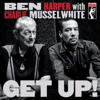 Ben Harper Get Up!  Album Art