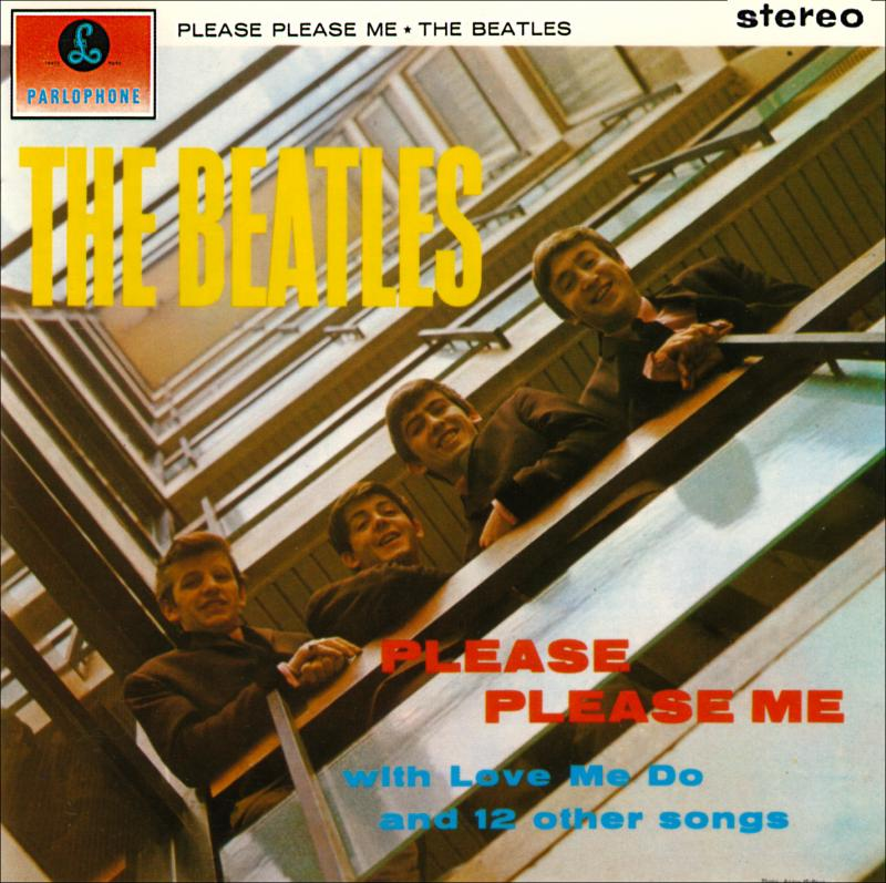 The Beatles Please Me Please Me  Album Art