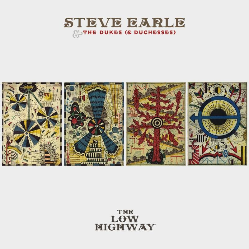 Steve Earl Album Art