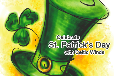St Paddy's Day Celtic Winds