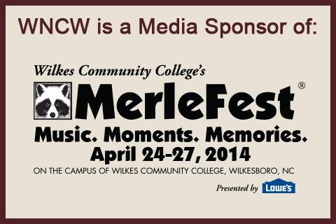 WNCW is a Media Sponsor of MerleFest