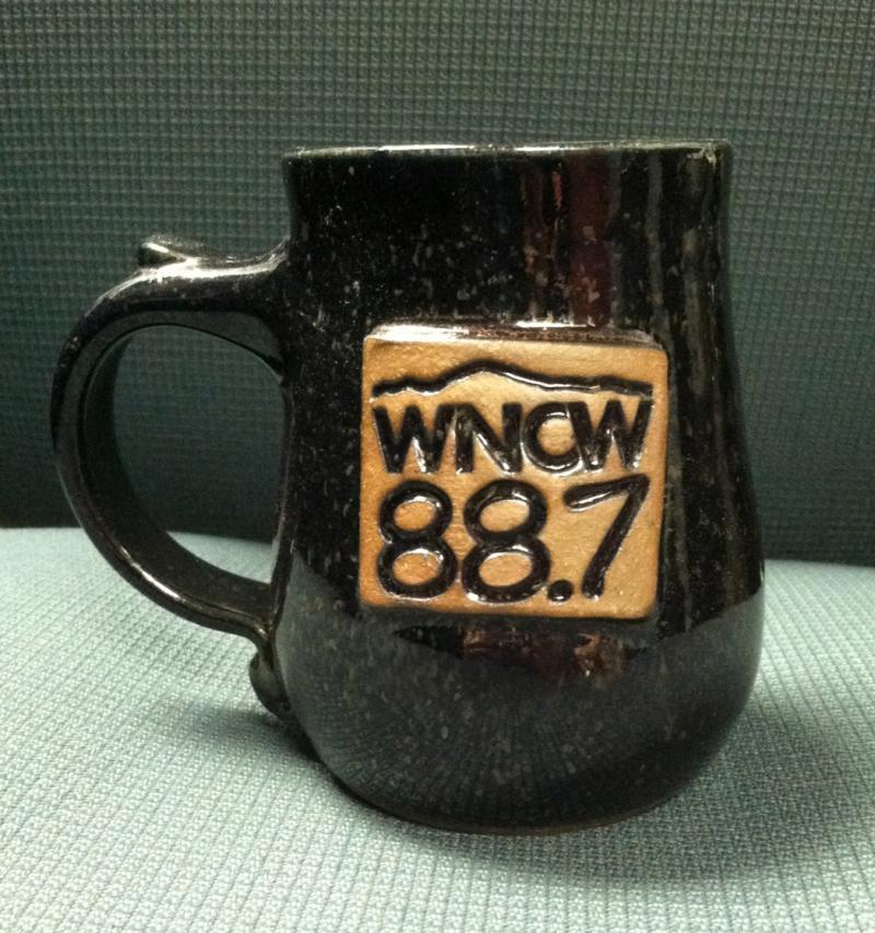 WNCW Handmade Mug