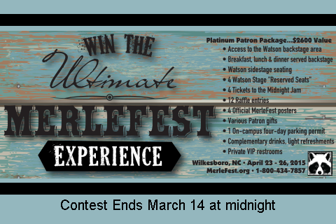 Win the Ultimate MerleFest Experience