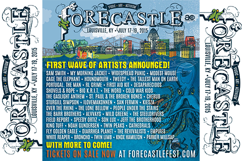 Forecastle Music Festival - July 17-19 in Louisville, KY