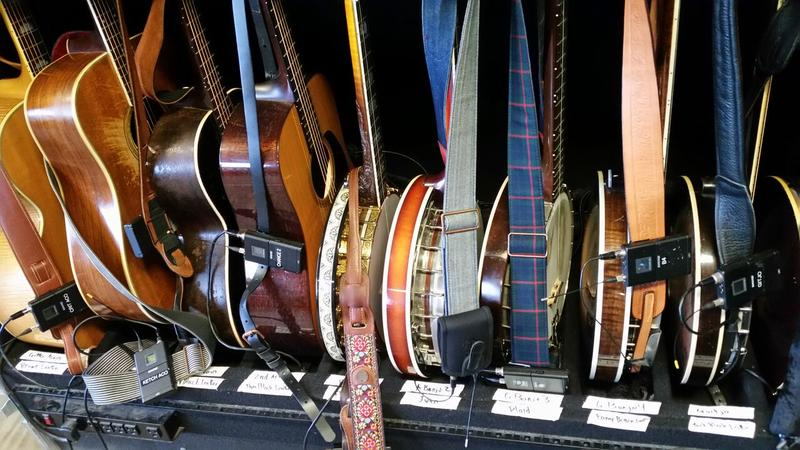 Instruments at MerleFest 2016