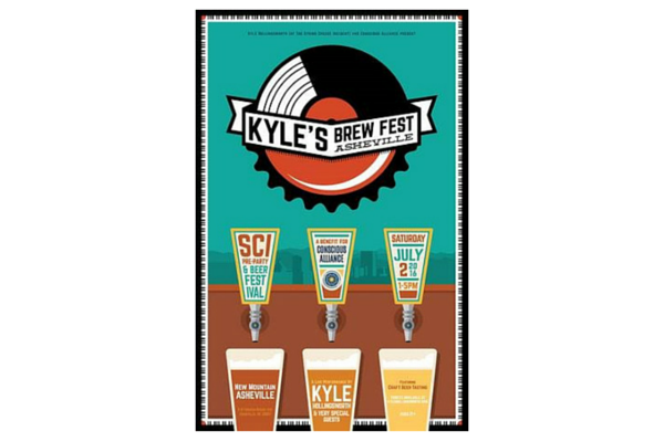 Kyle's Brew Fest ASHEVILLE – Official SCI Pre-Party