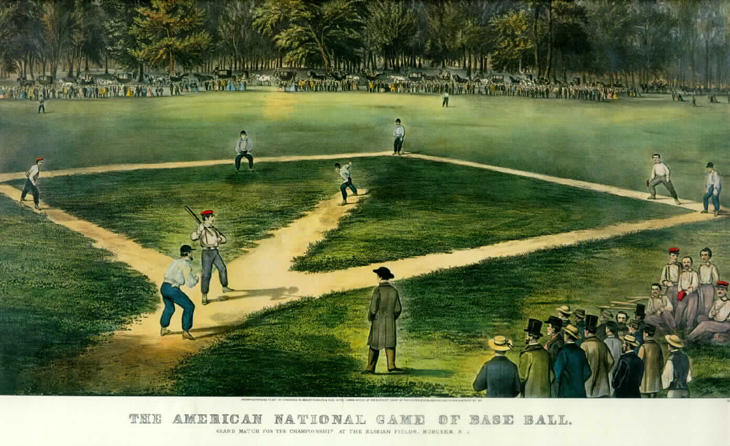 Elysian Fields Baseball Game