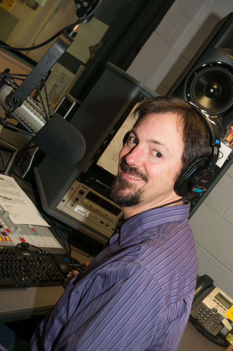 Image of WNCW Host Martin Anders
