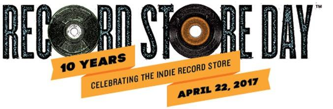 Record Store Day - April 22, 2017