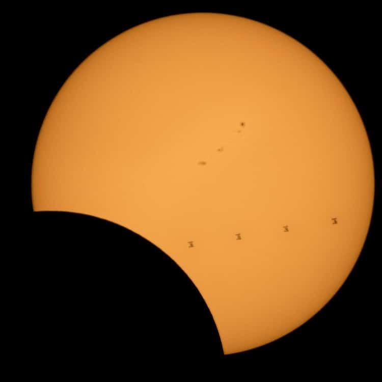 Image of total eclipse 2017