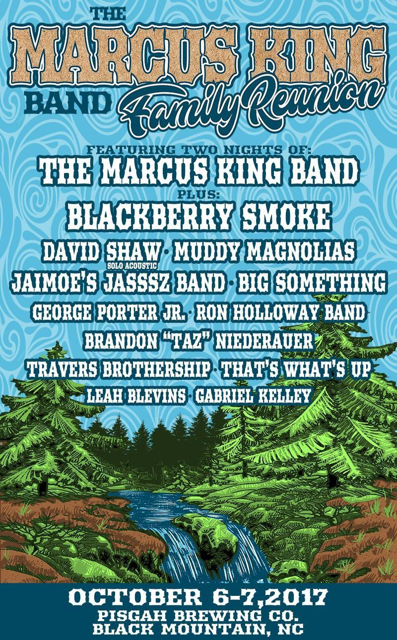 The Marcus King Band Family Reunion Lineup