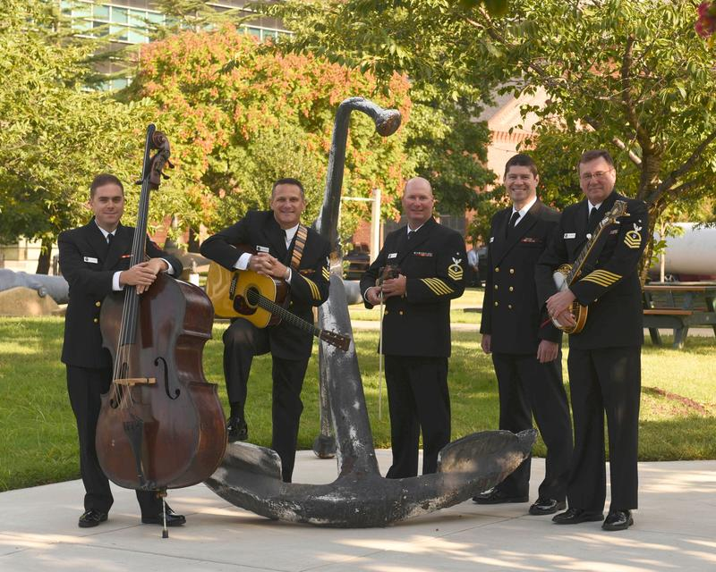 US Navy Country Current Bluegrass Band