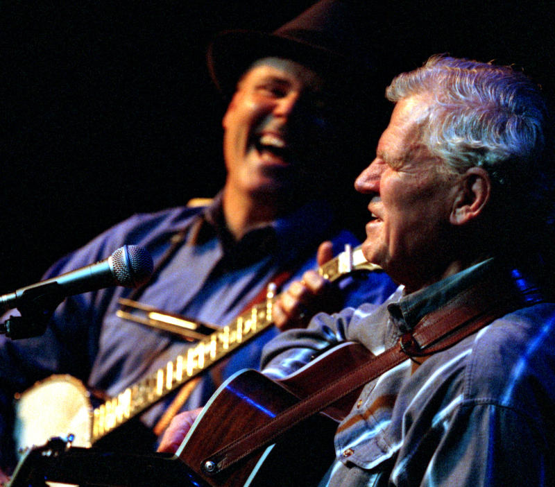 David Holt and Doc Watson