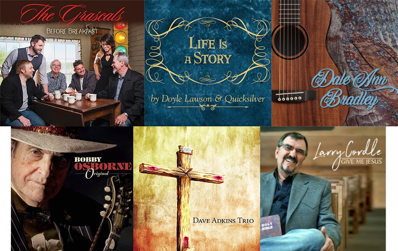 New Releases Available This Week Through Your Support: BLUEGRASS & GOSPEL