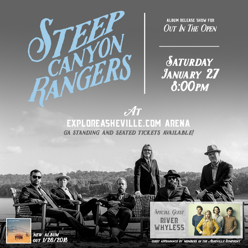 Steep Canyon Rangers Album Release Show For 'Out In The Open' - Jan 27, 2018