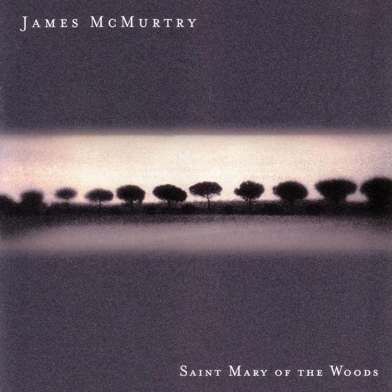 Image of album cover filled with small trees in a line. It's art for a James McMurtry record.