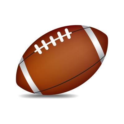Image of pigskin football