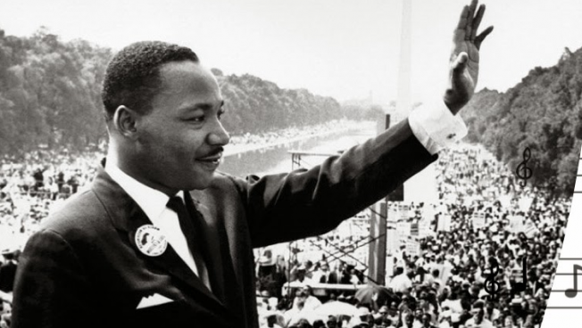 Monday January 15th Music Inspired By Dr Martin Luther King Jr