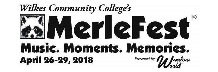 MerleFest 2018 Logo