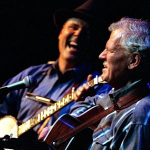 David Holt and Doc Watson performing