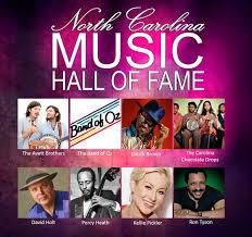 NC Music Hal of Fame Psoter