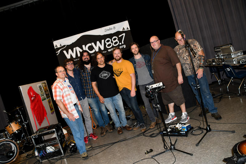 image of National Reserve Band In Studio B