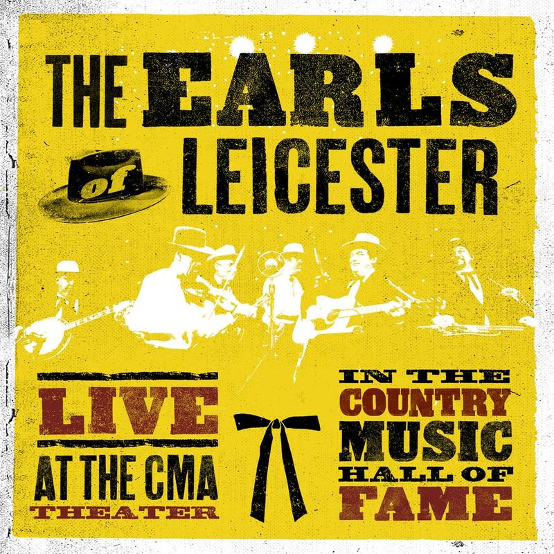 image of yellow album cover from the band Earl's of Leicester