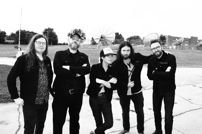 band posing