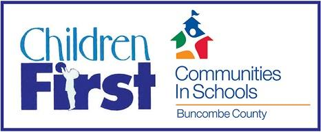 Logo of Children First - Communities in Schools - Buncombe County