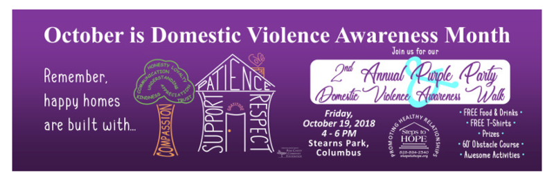 image of Steps To Hope Organization - helping to prevent domestic violence